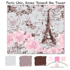 Paris Chic fabric collection