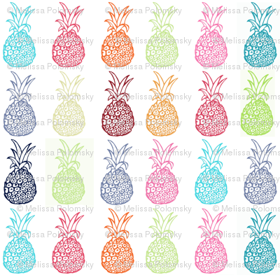 Summertime Pineapple Party, Version 1