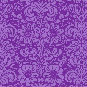 Damask-Purple