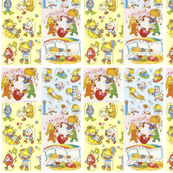 Rainbow Brite Sticker Sheet Collage