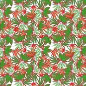 Cannabis Christmas Colors