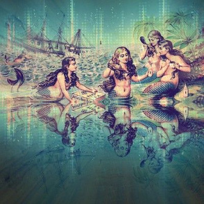 mermaids 8x8