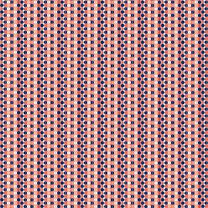 NavyCoral Disco Dot