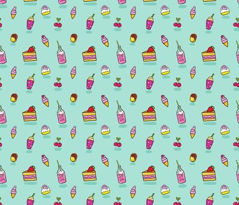 pattern Soda icecream cake
