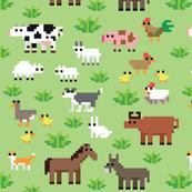 pixel-farm