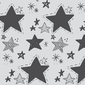 Stars doodle