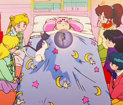Sailor Moon Bed Spread