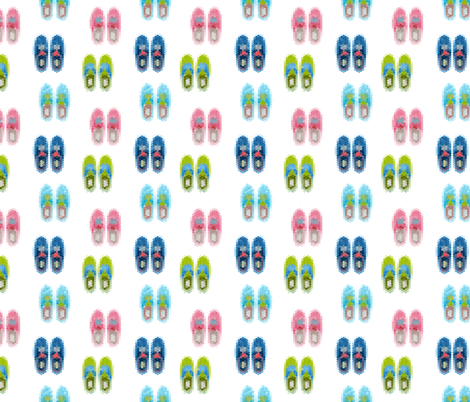 hipster shoes fabric by kostolom3000 on Spoonflower - custom fabric