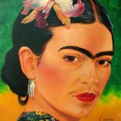 portrait of frida big