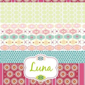 Morocco Quilt Personalized - kiwi