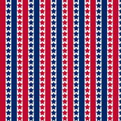 4th of July Stars and Stripes Decorative Pattern
