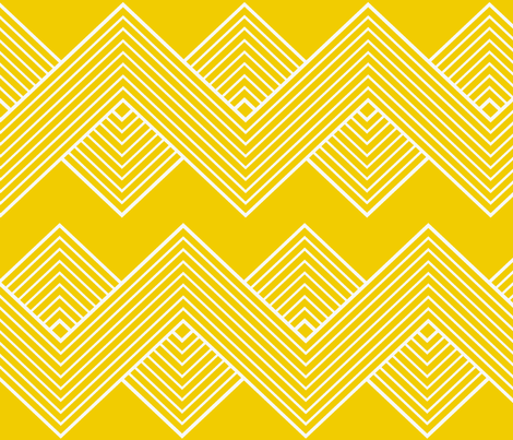 Modern Uniformity - Sunshine fabric by natitys on Spoonflower - custom fabric