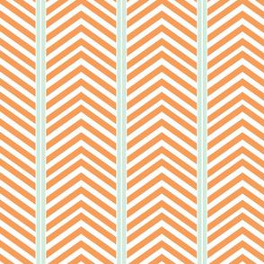 Modern Symmetry - Peach Minty Iceburg