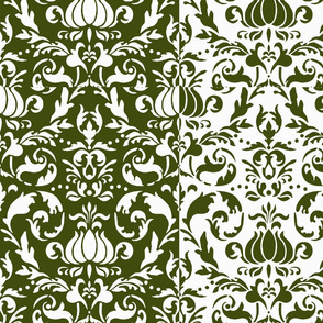 Baroque_Stripe green
