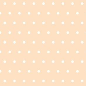 Cream wedding dot