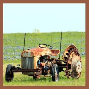 Bluebonnet Tractor