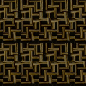 Circuit in Black and Ochre