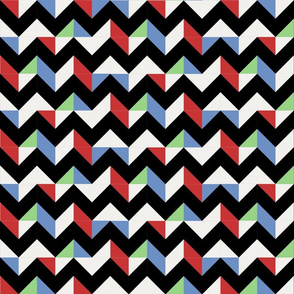 Retro Space Chevron