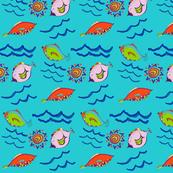 Zany Fish
