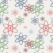 Retro Space Atom