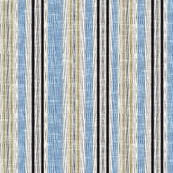 Patterned irregular stripe