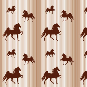 Horses-brown_stripe