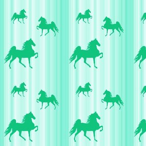 Horses-green_stripe