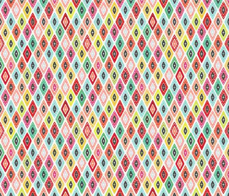 koi diamond fabric by scrummy on Spoonflower - custom fabric