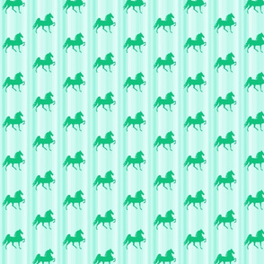 Horses-green_stripe-for_kids