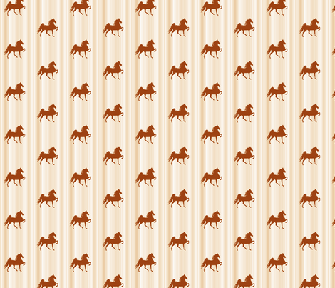 Horses-golden_stripe-for_kids fabric by mammajamma on Spoonflower - custom fabric