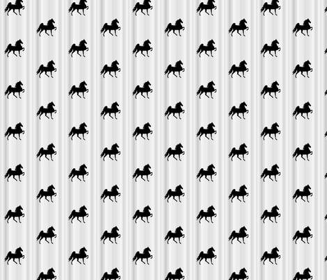 Horses-grey_stripe-for_kids fabric by mammajamma on Spoonflower - custom fabric