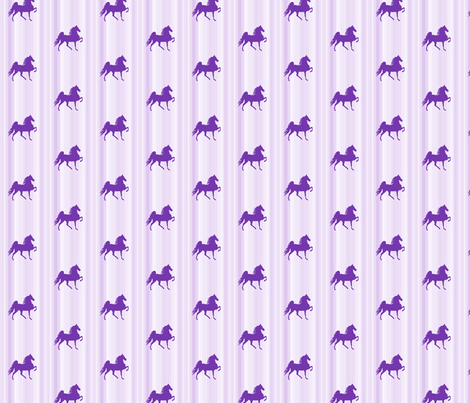 Horses-purple_stripe-for_kids fabric by mammajamma on Spoonflower - custom fabric