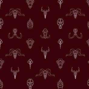 Geometry Animal Skulls #3