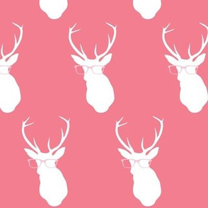 Smarty Pants Deer, Coral