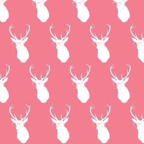 Smarty Pants Deer Small, Coral
