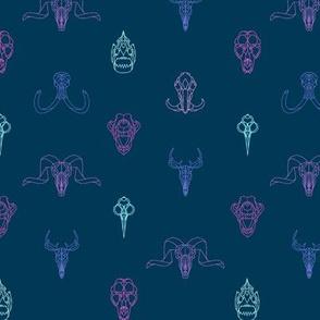 Geometry Animal Skulls #6