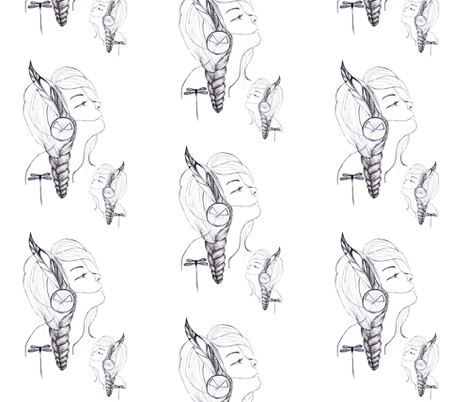 Peace Keeper fabric by messies on Spoonflower - custom fabric