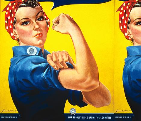 We Can Do It (J Howard Miller, 1943)