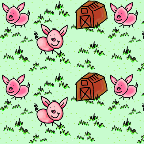Happy Bacon, Little Pink Farm Pigs