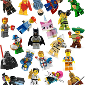 Medium Lego Figurines