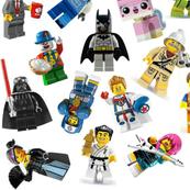 Medium Lego Figurines