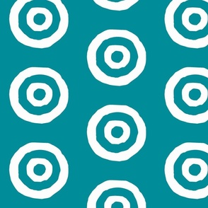 Target in turquoise