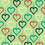 Heart Chain (Summer Farm Lt. Green)