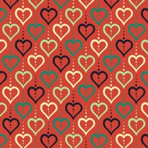 Heart Chain (Summer Farm Red)
