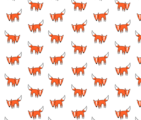 Foxful fabric by leanne on Spoonflower - custom fabric