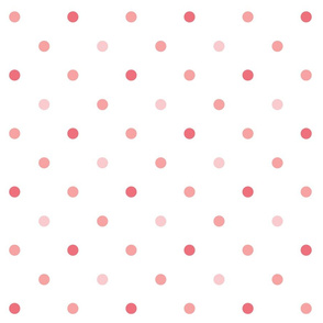 Modern Dot  Pink