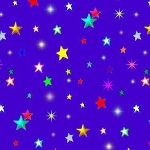 Royal Blue Stars