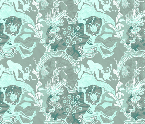 cosmic-kaufman-tq2k fabric by wren_leyland on Spoonflower - custom fabric