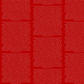 Elements in Phosphorus Red