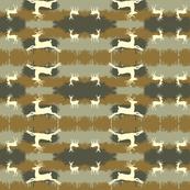 Camo Deer- mirror brown
